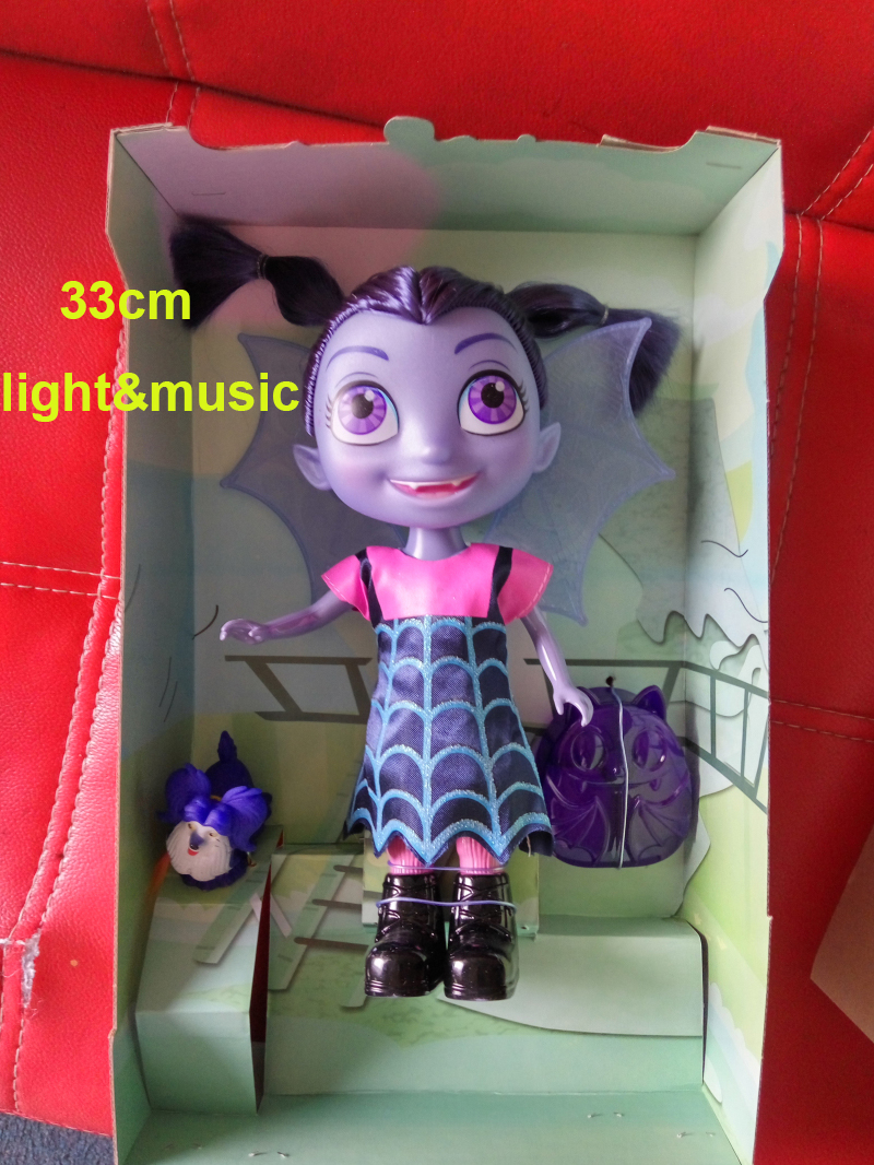 Hot Vampirina Junior Girls The Vamp Doll with Music Kids Birthday Gifts Figure Toys Big Size Children The Vamp Batwoman Girl Toy vamp 532 xxl