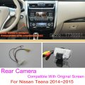 For Nissan Teana 2014~2015 / RCA & Original Screen Compatible / Car Rear View Camera Sets / HD Back Up Reverse Camera