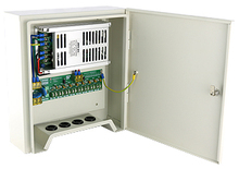 12V 20A 240W 8 Channel Outdoor Rainproof Power Adapter Supply for CCTV Camera White (default)