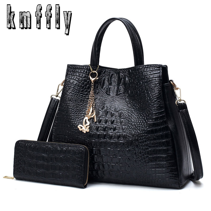 купить KMFFLY Shoulder Bags Brand Fashion PU Leather Women Chains Bag High Quality Ladies Tote Bag Female tassel bag Purses And Handbag недорого