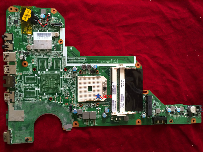все цены на Original FOR HP Pavilion G6-2000 LAPTOP Motherboard 683029-001 Da0r53mb6e1 fully tested онлайн