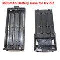 Chegada nova caixa de Bateria para BaoFeng UV-5R TYT TH-F8 Mesmo tamanho como 3800 mAh Bateria Suporte Da Bateria 6 AA (Bateria não incluída)