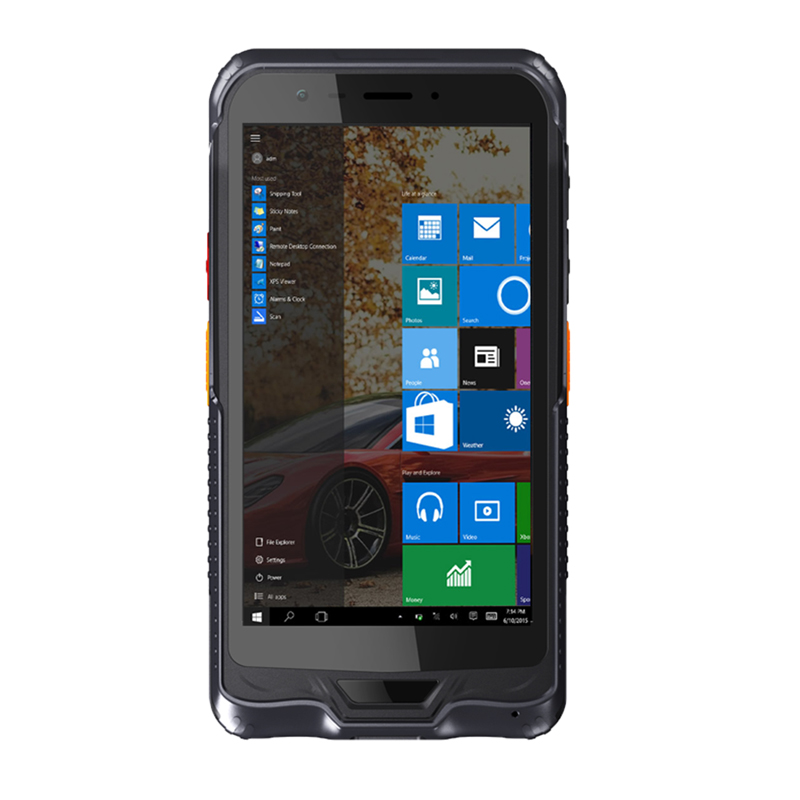6 Inch Windows 10 Enterprise Edition 2D Barcode Scanner RAM 4GB ROM 64GB  Rugged Handheld Device ( Rugged PDA)