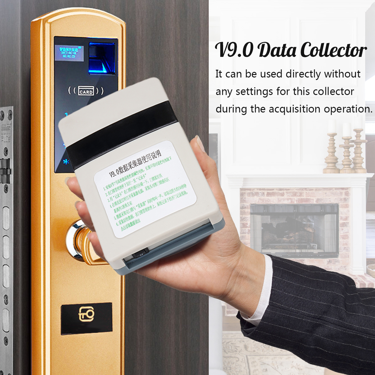 Card Lock Managment System Reader V9.0 Data Collector Hotel For T5557 Smart Card Intelligent Setting Record USB IdentificationCard Lock Managment System Reader V9.0 Data Collector Hotel For T5557 Smart Card Intelligent Setting Record USB Identification