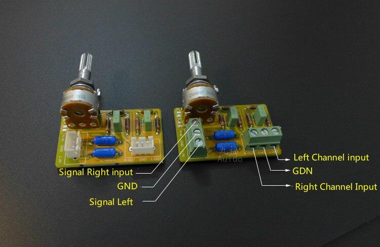 HIFI Amplifier Passive Tone Board Bass Treble Volume Control Board ...