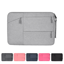 Buy Waterproof Laptop Bag Women Men for Macbook Air Pro 11.6 12.5 13.3 14.1 15.4 15.6 inch Laptop Portable Notebook Briefcase Cases directly from merchant!