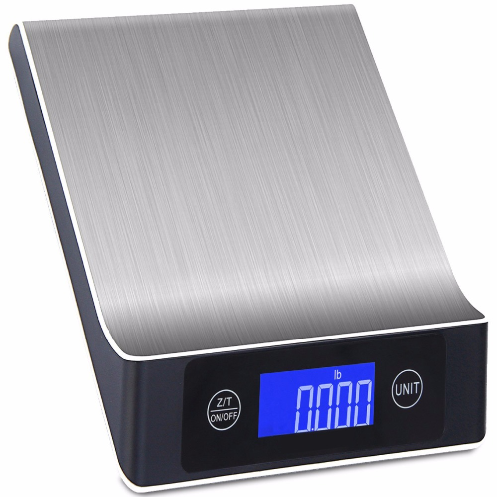 Food Scale - Stainless Steel Multifunction Digital Scale, 11lb/5kg - 2.2'' LCD Display, kitchen accessories