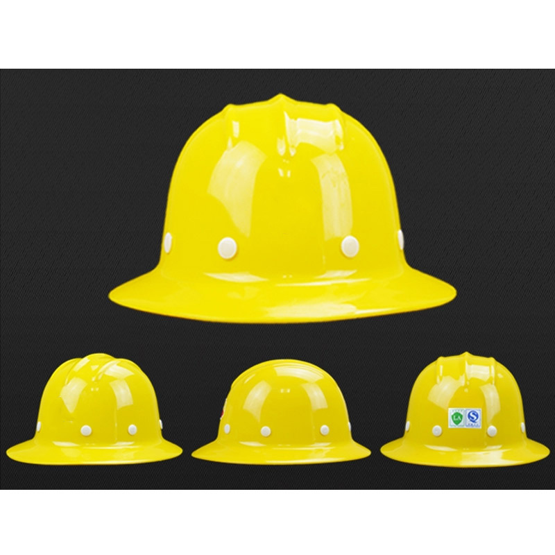 Image 5 - Safety Helmet Sunshade Rainproof Wide brimmed Hard Hat Labor insurance Construction Work Protection Helmet Logo Print Service-in Safety Helmet from Security & Protection