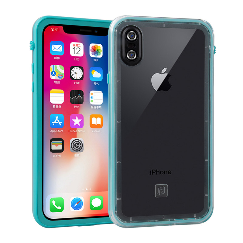 for iPhone X waterproof case (8)