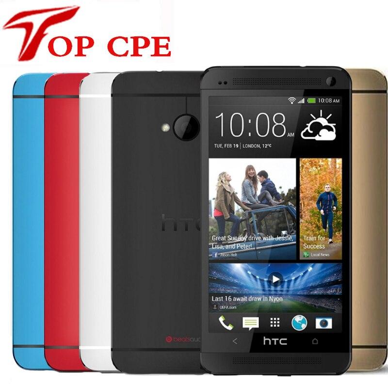 Unlocked Original HTC One M7 801e 32GB Android 4 1 Quad core 1 7GHz 4G LTE