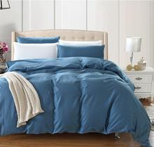 Online Get Cheap Gold Pink Comforter Aliexpresscom Alibaba Group - Blue solid color king size comforter