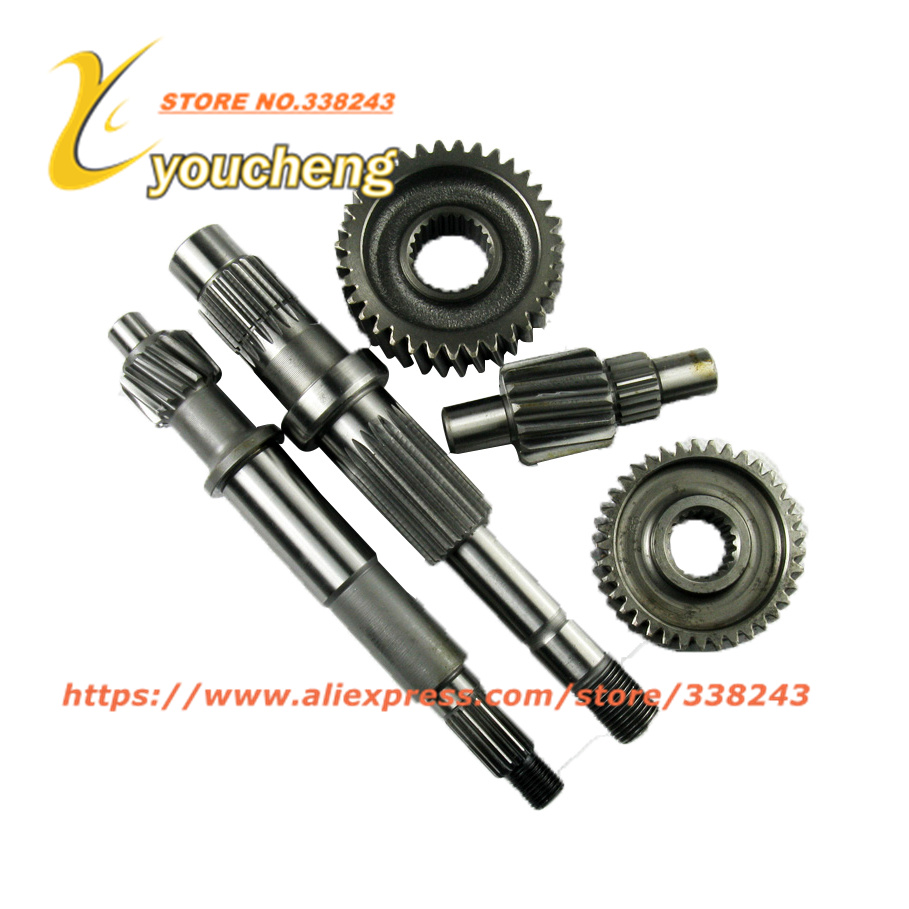 CF250 Gear Set CH250 CN250 Gear Shaft ATV 172MM CF 250cc Water Cooled Scooter Engine Parts