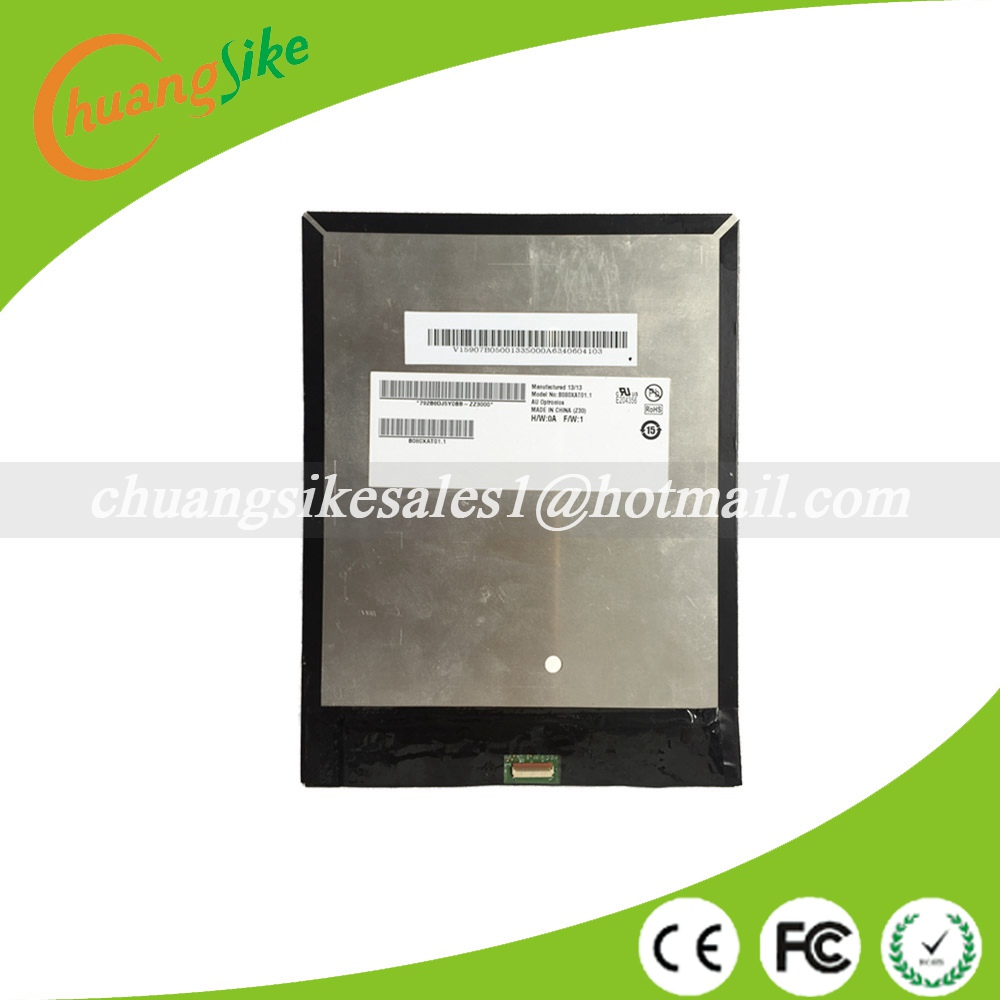 A+ 8 LCD Display For Tab A1 A1-810 A1-811 A1 810 B080XAT01.1 LCD Display Module Panel Replacement