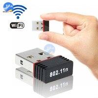 무선 어댑터 mtk7601 150 mbps usb wifi 어댑터 802.11n/g/b ieee 801.11n 802.11g 802.11b lan + pc 네트워크 용 안테나