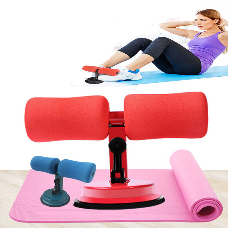 Sit Up Equipment Home Gym Leg Holder Abdominal Machine Ab Exerciser Suction Cup