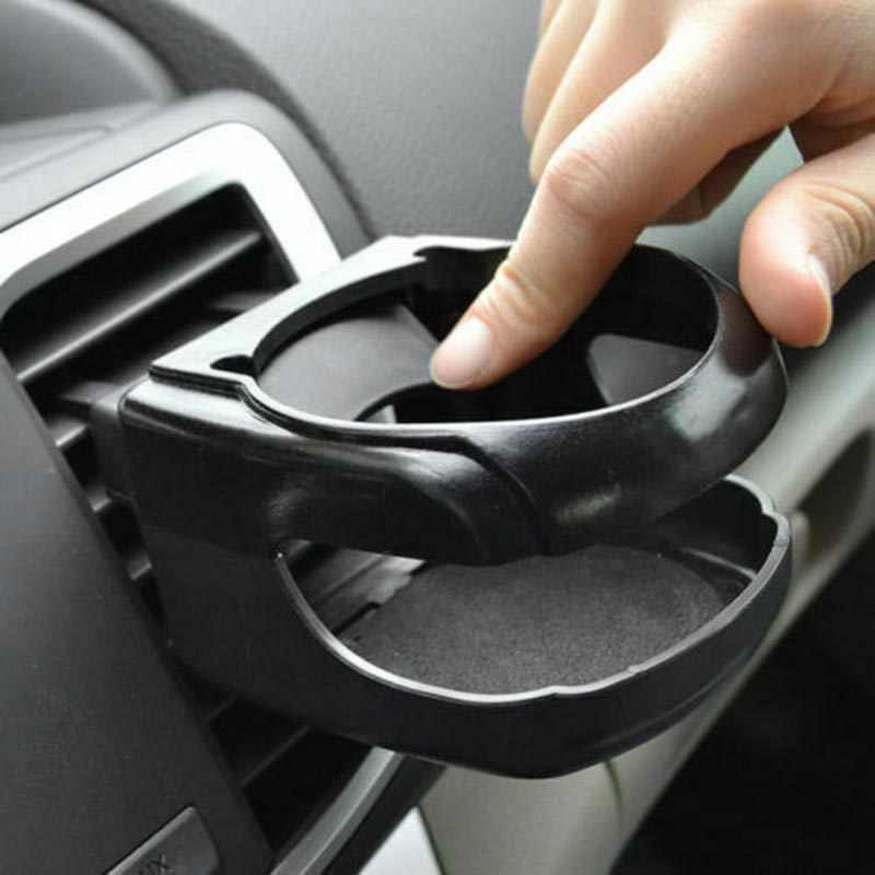 8.5 * 9.5 * 5.5 Cm Black Auto Car Outlet Air Vent Mount Drink Cup Water Bottle Can Holder Rack