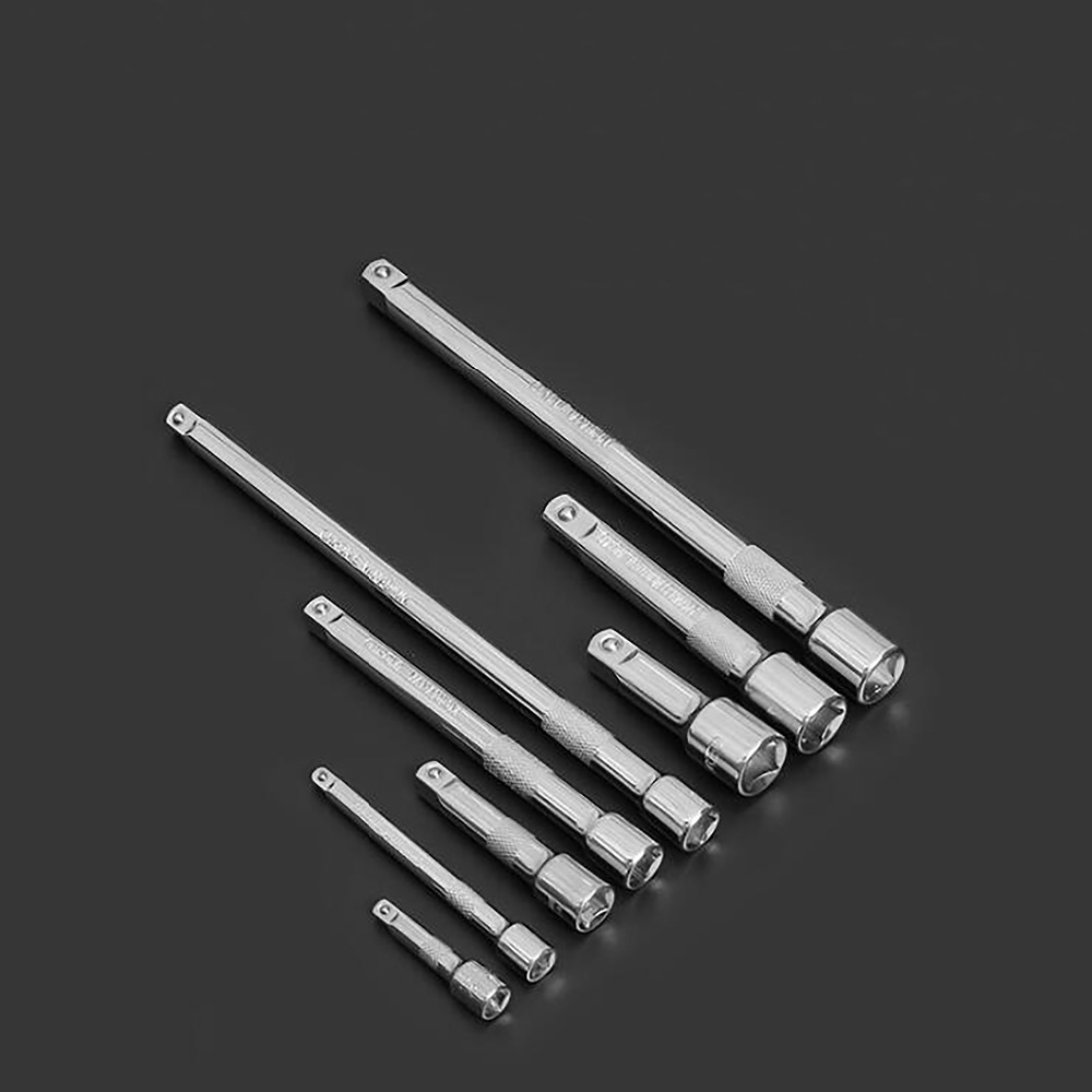 1pc 125mm 250mm Long Extension Bar Wrench Extender Adjustment Tool 3/8 1/2 Inch Socket Drive Extension Hand Tool Wrench