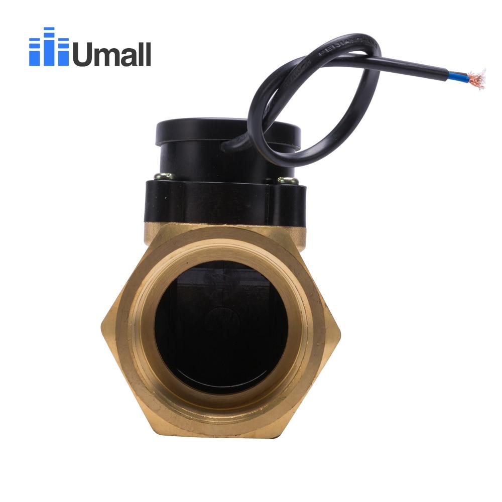 HT2010 2 дюйма повышающий циркуляционный водяной насос Датчик потока переключатель подлинной электронной магнитной трубы клапан контроля давления