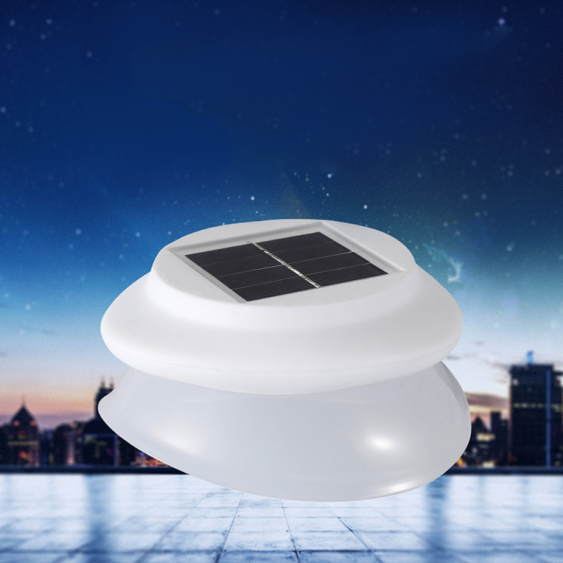 Fence Garden Shed Walkways Anywhere  Newest LED Solar Lights Gutter Utility Light Permanent For Houses
