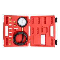 A0015 Wave Box Pressure Meter Oil Pressure Tester Gauge Test Kit Garage Tool TU 11A Auto Pressure Tester