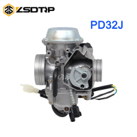 ZSDTRP PD32J 32MM Motorcycle aluminium alloy Carburetor Carb for Honda TRX 400 Foreman for Kawasaki ATV KLF300 Bayou 300