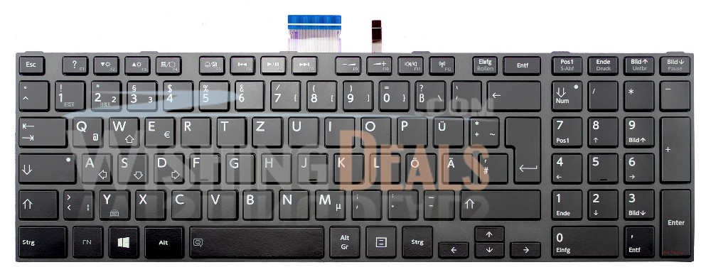 New Laptop Keyboard Replacement for Toshiba Satellite S75-A S75-B S75D-A S75D-B S75DT-A S75DT-B S75T-A S75T-B with Frame with Backlit US Layout Black Color