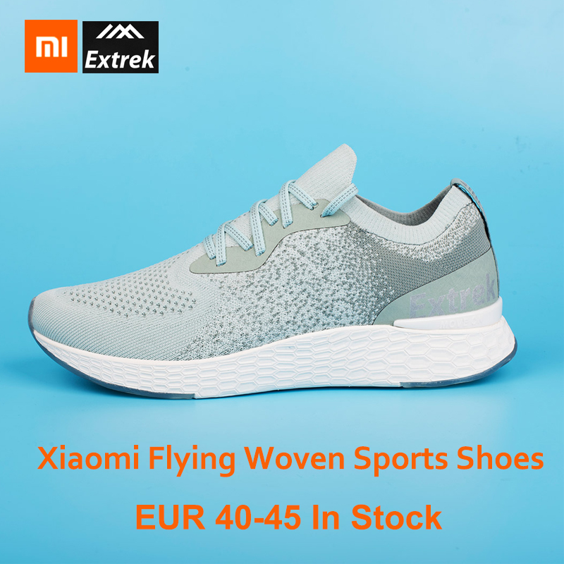 Xiaomi COOLMAX volant tissé hommes chaussures de sport maille légère respirant à séchage rapide amoureux course baskets maison intelligente
