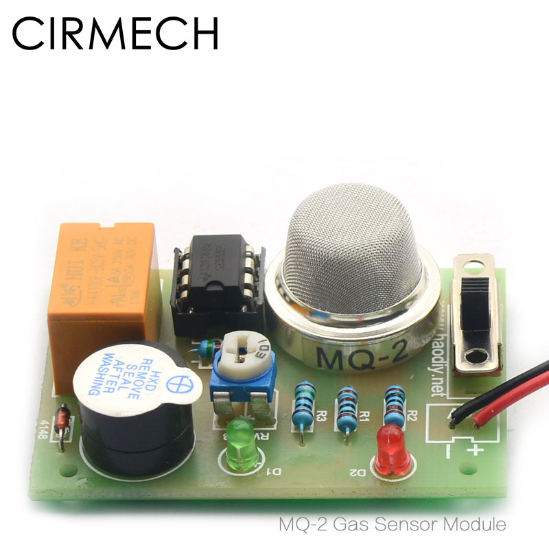 Cirmech Mq-2 Gas Sensor Modul Rauch Gas Lpg Butan Wasserstoff Gas Sensor Butan Methan Detektor Für Arduino Diy Kit Bequemes GefüHl