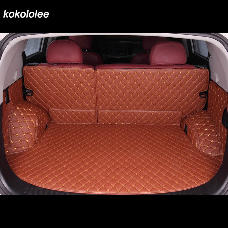 Custom car trunk mat for Nissan all models Patrol KICKS MAXIMA Murano LANNIA Sunny Sylphy Qashqai