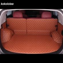 Пользовательские коврик для багажника автомобиля для Nissan Все модели патруль ногами Maxima Murano LANNIA солнечное сильфи Qashqai Teana X-Trail Livina Tiida