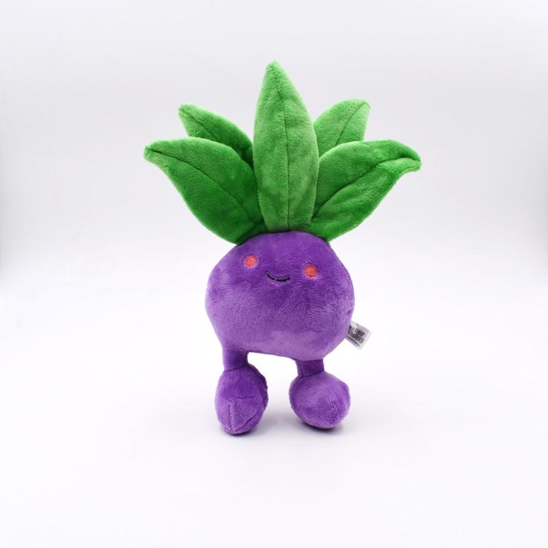 20cm New Hot Oddish Plush Toys For Children Gift Soft Toy Kawaii Cute Cartoon Anime