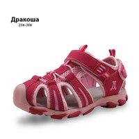 Apakowa 22017 New Children Kids Shoes Girls Boys Sandals Summer Closed Toe Sandals For Kids Little