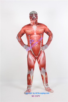 Attack on Titan Colossal Titan Cosplay Costume