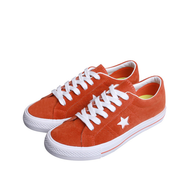 fahion Women Canvas Shoes cow Suede trampki orange Board Shoes women sneakers Female Casual women Vulcanize Shoes Espadrilles e lov new arrival luminous canvas shoes graffiti pisces horoscope couples casual shoes espadrilles women