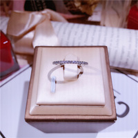 Row Layered Rings silver simple zircon Midi Ring pure S925 silver Ring Knuckle Rings For Women Jewelry Bagues Anillos gift