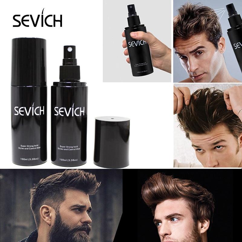 100ML SEVICH Hair Fiber Styling Spray Hair Holding Spray Thickening Instantly Fuller Looking Hair For Men & Women Hair Style