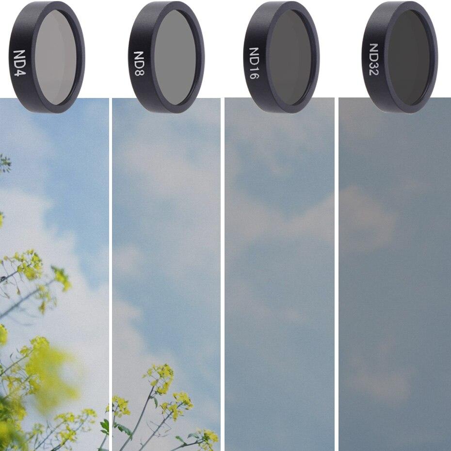 CAENBOO Drone filtres ND4 8 16 32 densité neutre CPL polaire lentille filtre Set protecteur pour DJI Mavic Air caméra accessoires-in Filtre de drone from Electronique    3