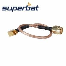 Superbat SMA штекер для MC карты Штекер помощью соединительного кабеля для варианта Беспроводной RG316 15 см