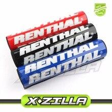 Renthal 250mm Handlebar Round Cushion Crossbar Foam Bar Chest Square Pad Pro Taper for CRF50 XR50 CRF70 XR70 Dirt Bike