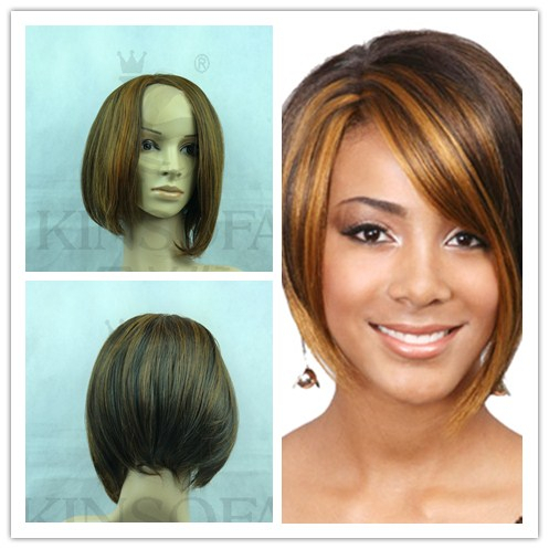 Pelucas Promotion Wigs Rushed Sale Front Wig 2017 Fashion Short long Bob font b Hair b