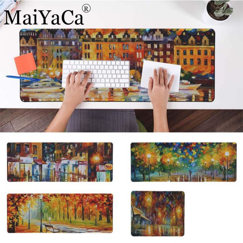 MaiYaCa Simple Design Oil Painting drawing  Gaming Mouse Pad Large Mouse Pad Gamer for league of legends mouse pad mousepad