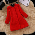 Luxury Thick Natural Sheep Shearling Long  Coat New Winter  Genuine Shearling Full Pelt Real Lamb Fur Jacket Women's Clothing