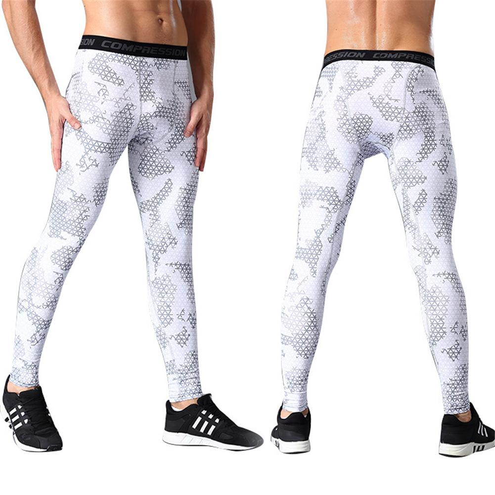 Sports Pants Mens Compression Tights Quick-drying Pants Outdoor Running Training Basketball Pants Wear Fitness Pants Leggings active neon yellow quick drying leggings