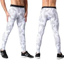Sports Pants Mens Compression Tights Quick-drying Pants Outdoor Running Training Basketball Pants Wear Fitness Pants Leggings