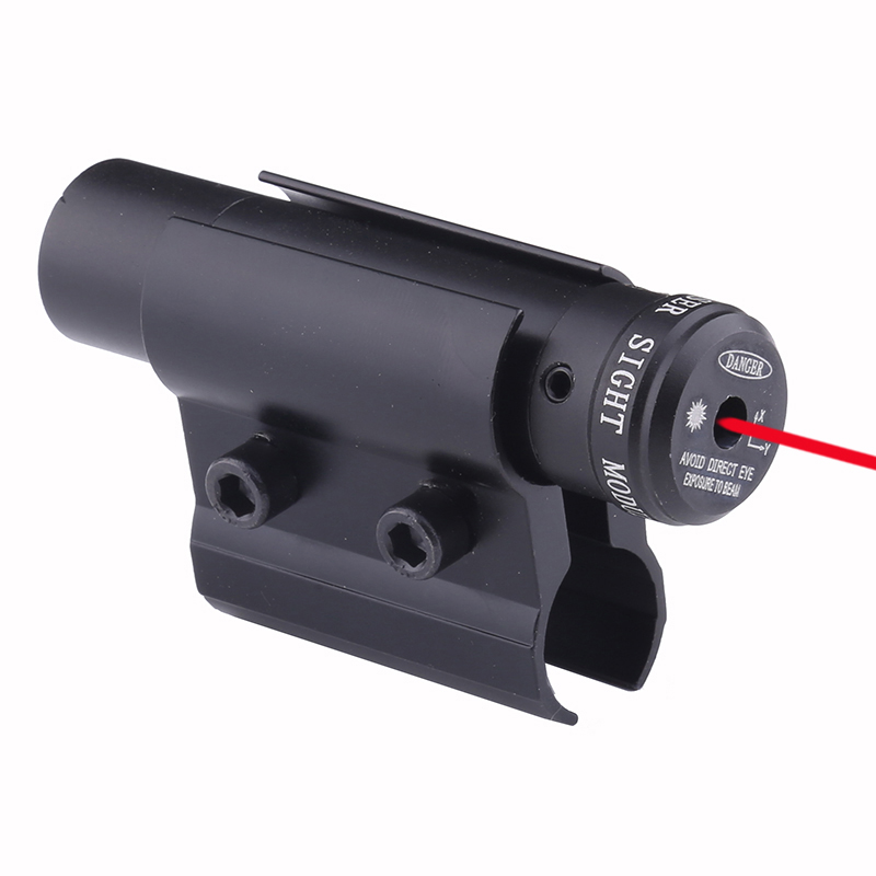 RIfle barrel Red Laser Red Dot Laser Sight And Scope For Gun Rifle Weaver Rail Mount Airsoft Hunting Tools Accessories