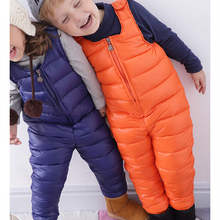Pant Jumpsuit Overalls Rompers Clothes-Sets Girls Kids Winter Children's Baby Cotton