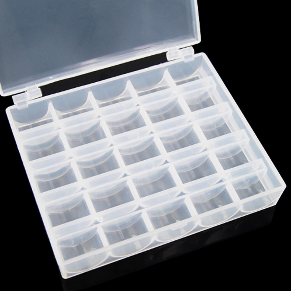 ArtBin Bobbin Box Factory Sealed Holder Storage Organizer Sewing Thread Holds 25 in Storage Boxes Bins from Home Garden