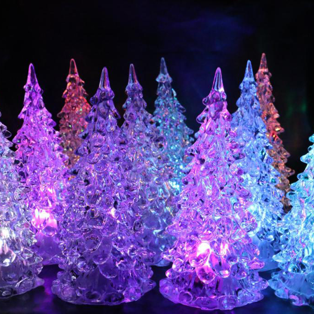 christmas tree light seasonal lighting mini led nursery night lights decorations for home holiday kids room hallway in trees from home garden on
