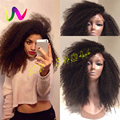 Synthetic Lace Front Wigs With Baby Hair Afro Curl Wigs Hairstyles Cuts Heat Resistant Fiber Hair Synthetic Wigs For Black Women