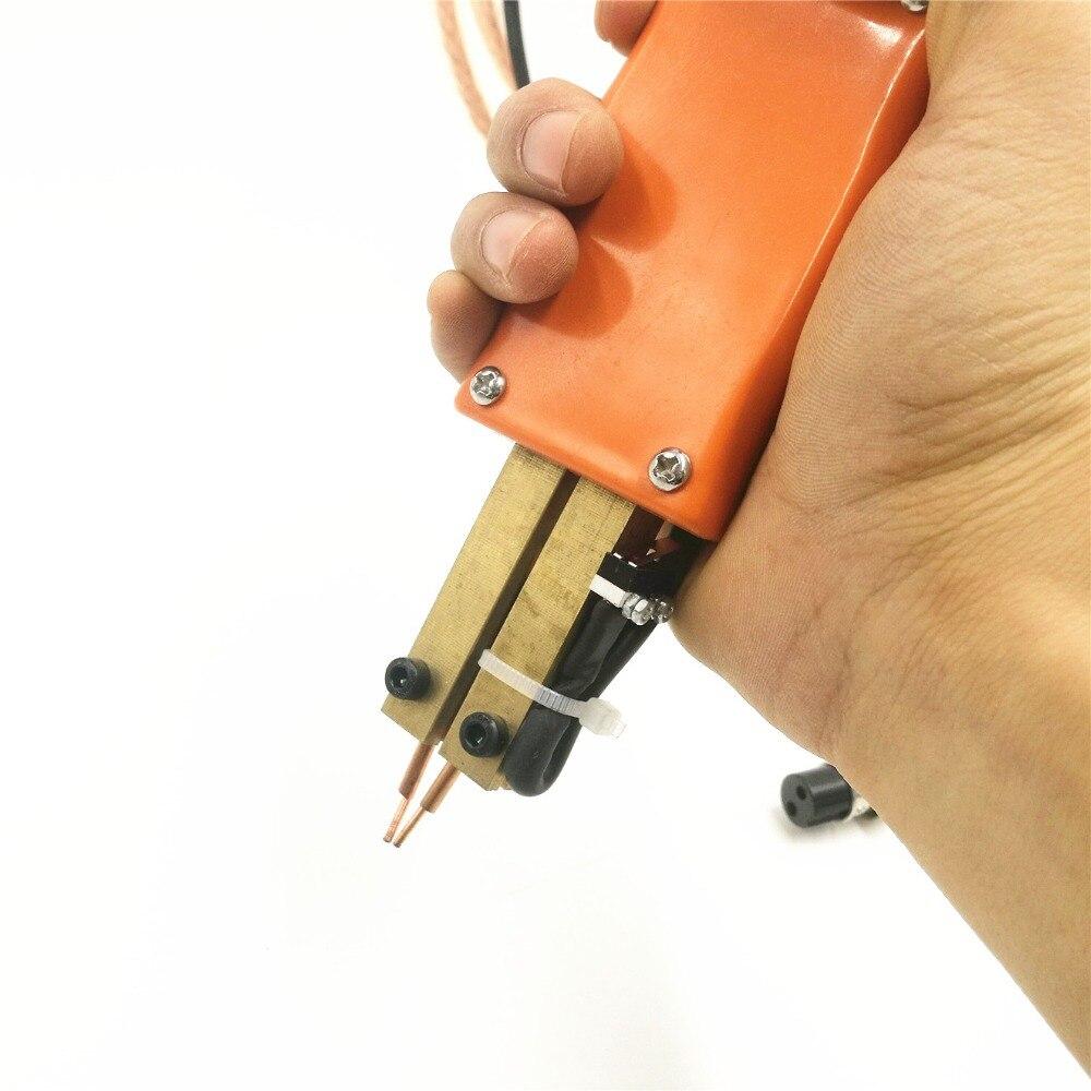 Integrated spot welder spot welding pen handheld portable with trigger switch length 60cm 18650 battery spot